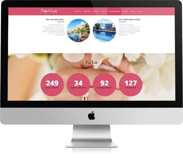 Perfect Couple - Wedding WordPress Theme - 4