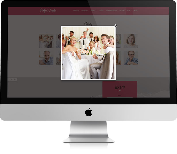 Perfect Couple - Wedding WordPress Theme - 7